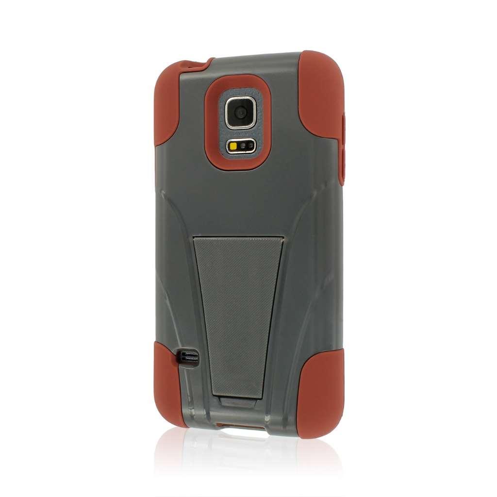 Samsung Galaxy S5 Mini - Sandstone / Gray MPERO IMPACT X - Kickstand Case