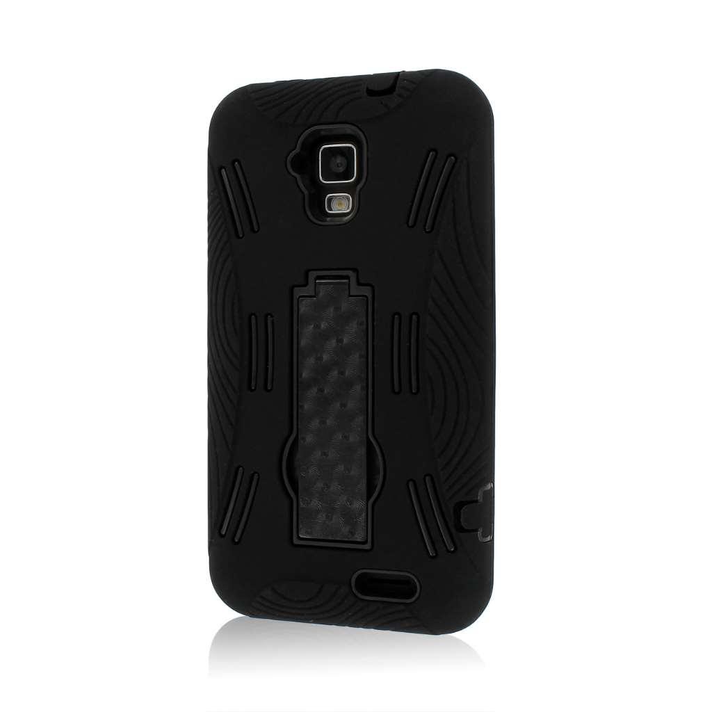 AT&T Z998 - Black MPERO IMPACT XL - Kickstand Case Cover