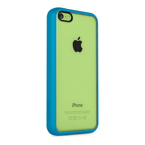 iPhone 5C - Clear/Topaz Belkin View Case