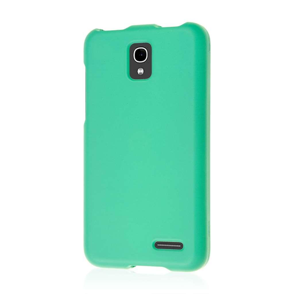 Alcatel OneTouch Pop Star LTE - Mint Green MPERO SNAPZ - Rubberized Case