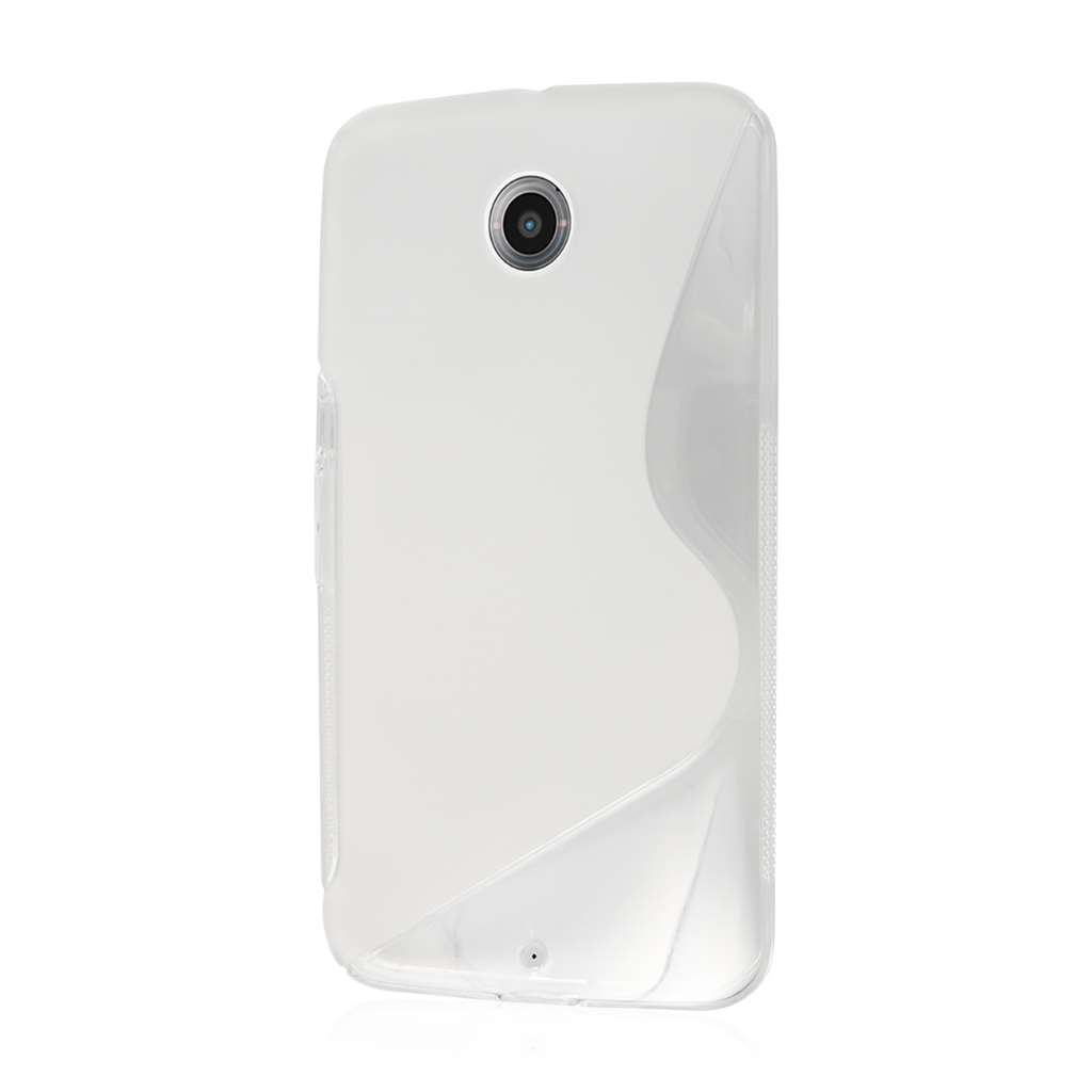 Google Nexus 6 - Clear MPERO FLEX S - Protective Case Cover