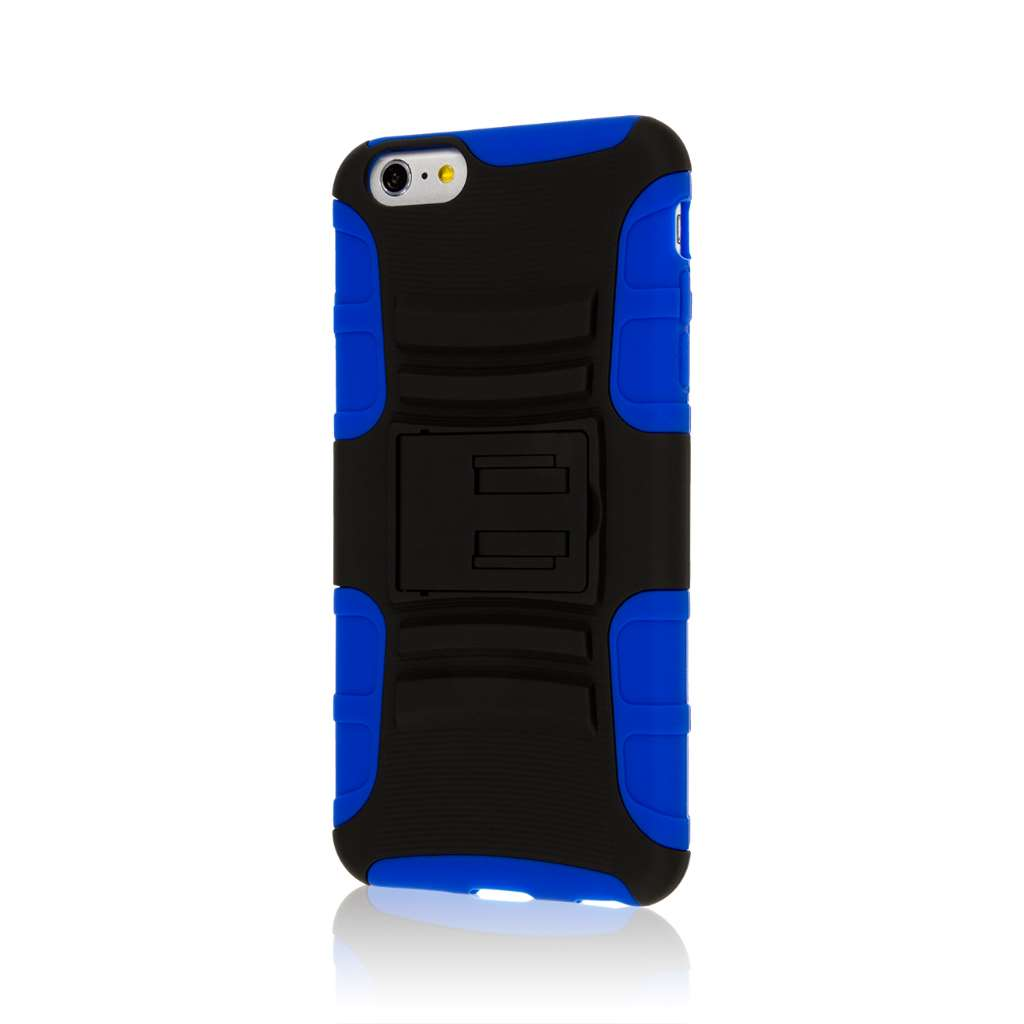 Apple iPhone 6 6S Plus - Blue MPERO IMPACT XT - Kickstand Case Cover