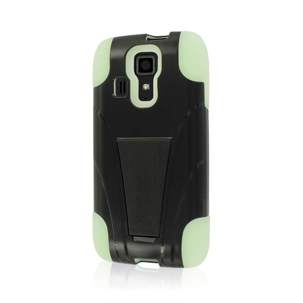 Kyocera Hydro Icon - Glow In The Dark Green MPERO IMPACT X - Kickstand Case