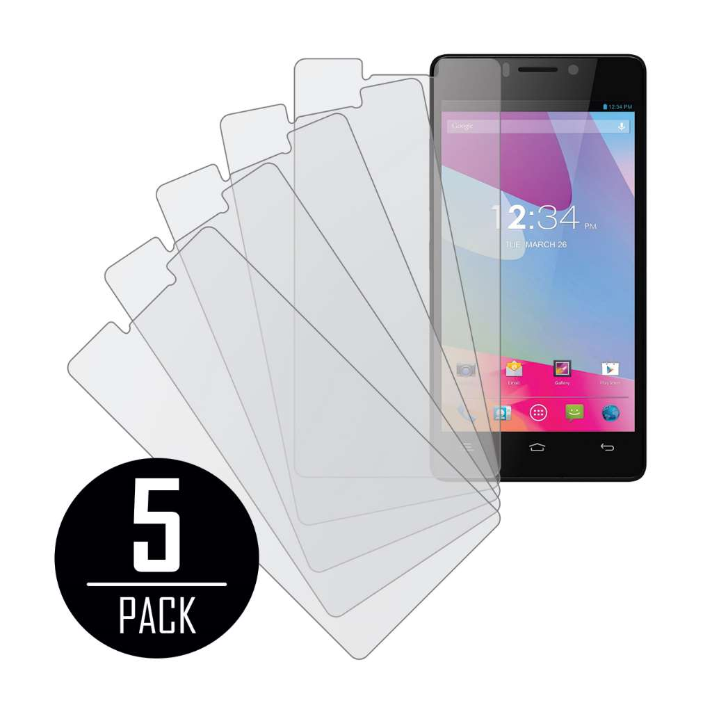 BLU Vivo 4.8 HD MPERO 5 Pack of Matte Screen Protectors