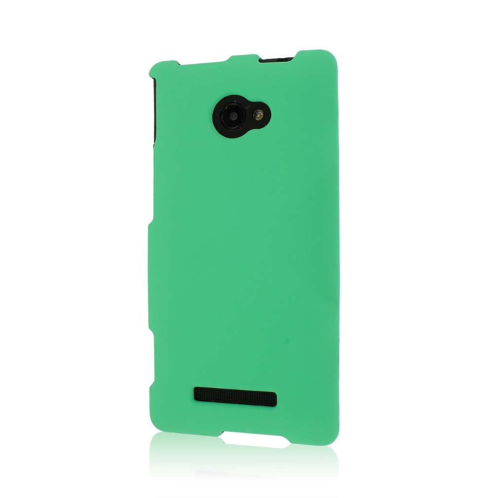 HTC Windows Phone 8S - Mint Green MPERO SNAPZ - Rubberized Case Cover