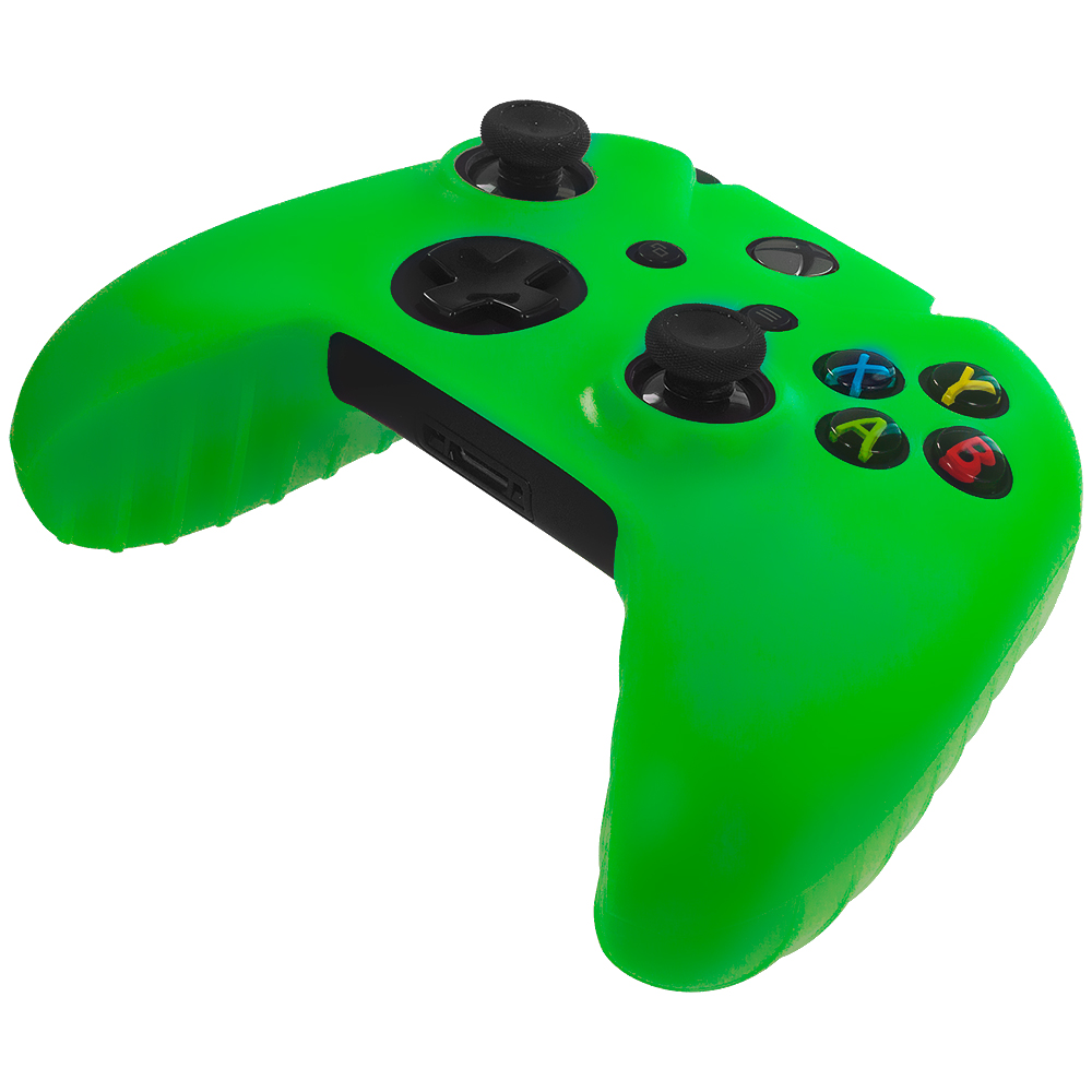 Microsoft Xbox One Neon Green Silicone Soft Skin Case Cover