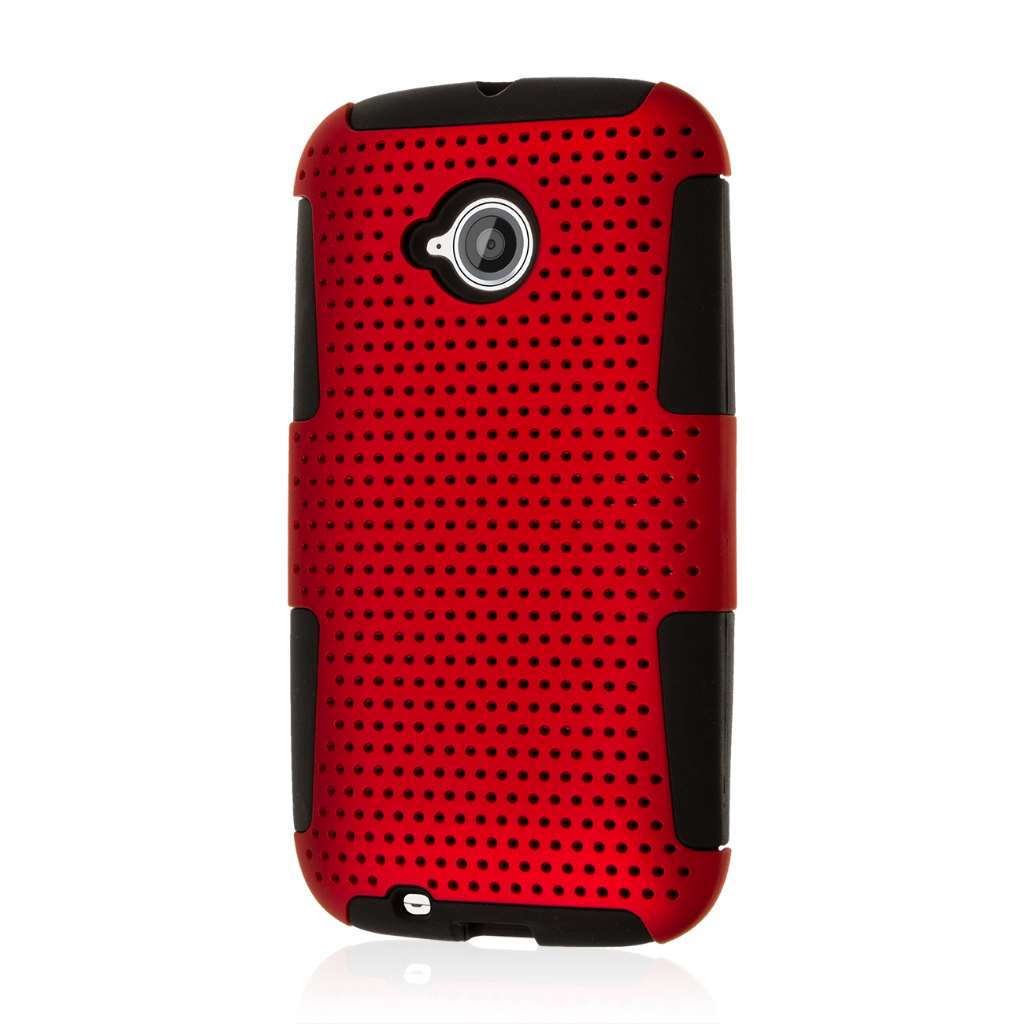 Motorola Moto E 2nd Generation - Red MPERO FUSION M - Protective Case Cover