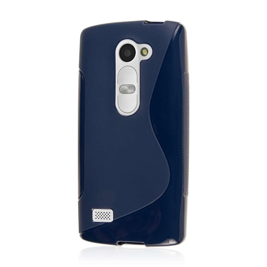 LG Leon - Navy Blue MPERO FLEX S - Protective Case Cover