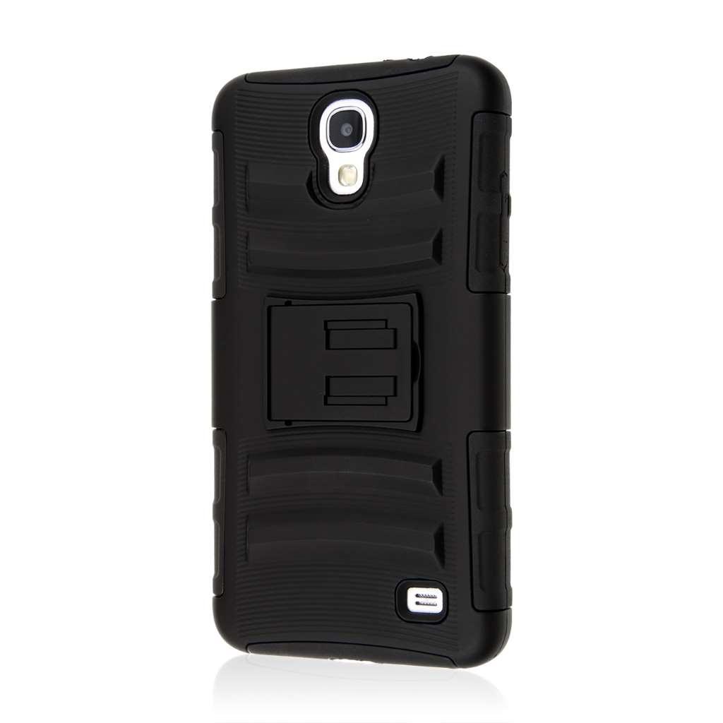 Samsung Galaxy Mega 2 - Black MPERO IMPACT XT - Kickstand Case Cover