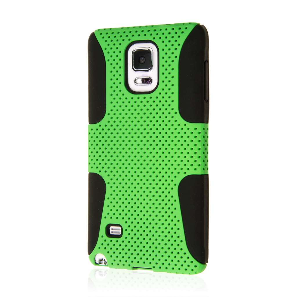 Samsung Galaxy Note 4 - Neon Green MPERO FUSION M - Protective Case Cover
