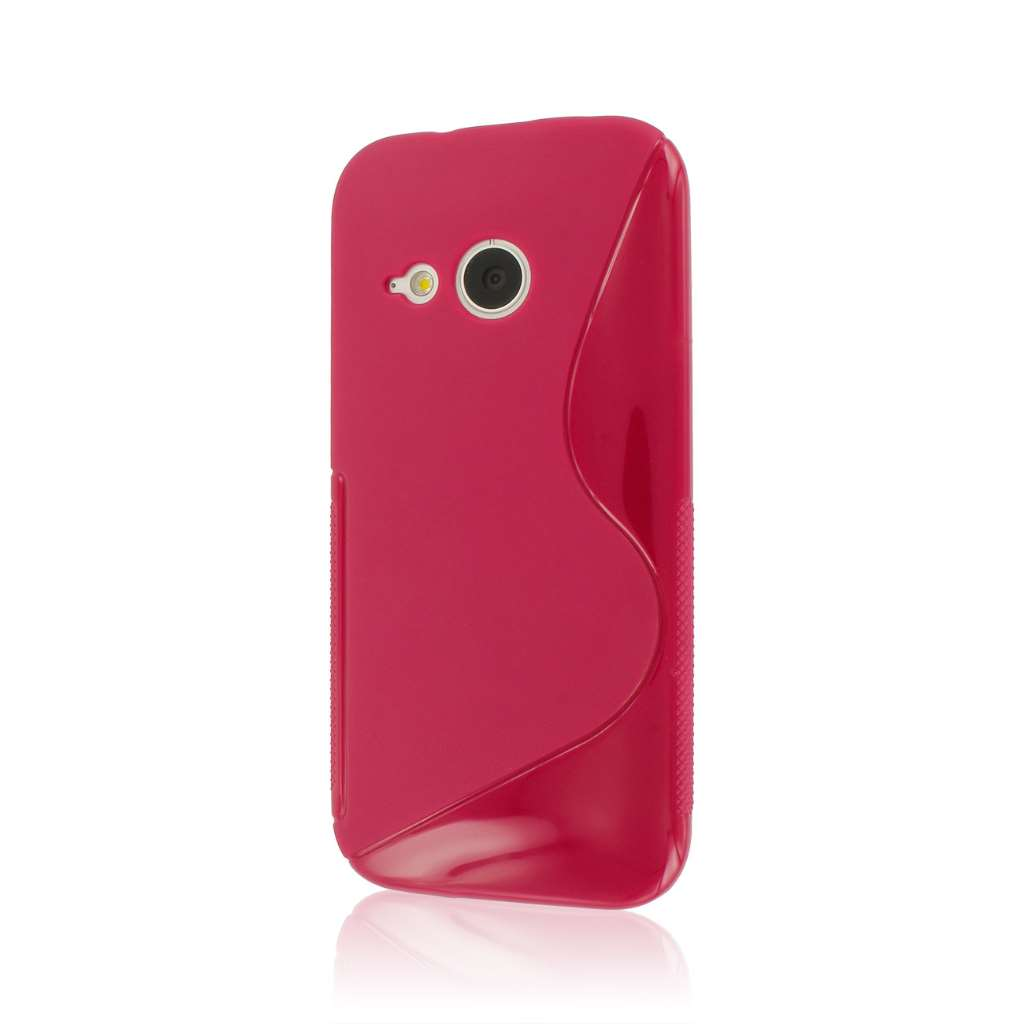 HTC One Mini 2 - Pink MPERO FLEX S - Protective Case Cover