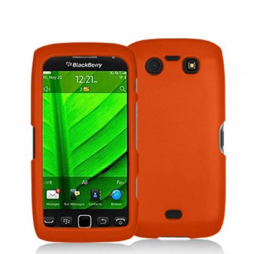BlackBerry Torch 9850 9860 Orange Hard Rubberized Case Cover