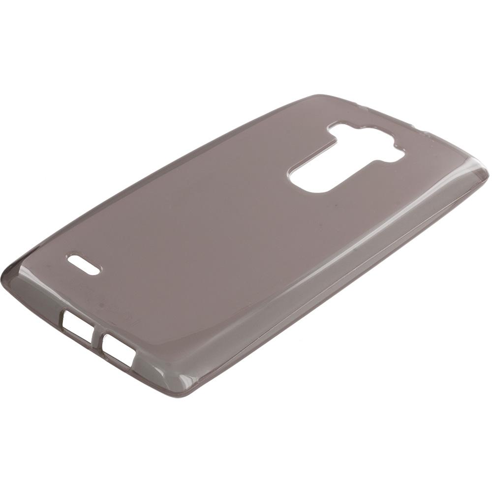LG G Flex 2 Smoke TPU Rubber Skin Case Cover