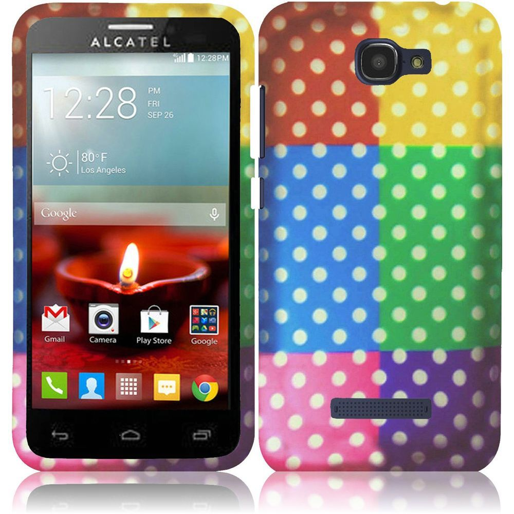 For alcatel one touch fierce t snap on design hard