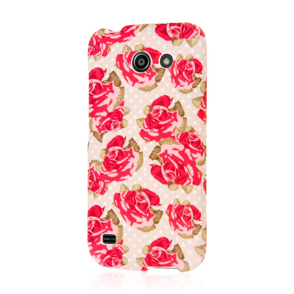 Huawei Tribute 4G LTE - Vintage Red Roses MPERO SNAPZ - Case Cover