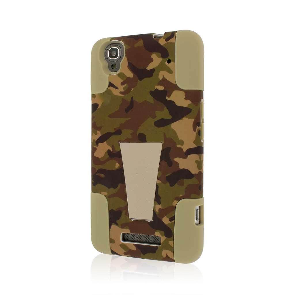 ZTE Max - Hunter Camo MPERO IMPACT X - Kickstand Case Cover