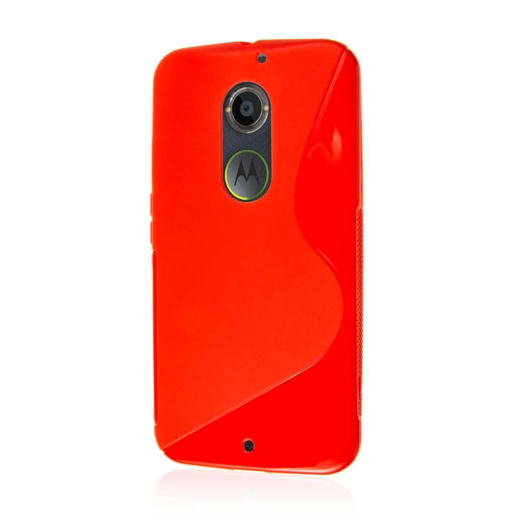 Motorola Moto X 2014 2nd Gen - Red MPERO FLEX S - Protective Case Cover