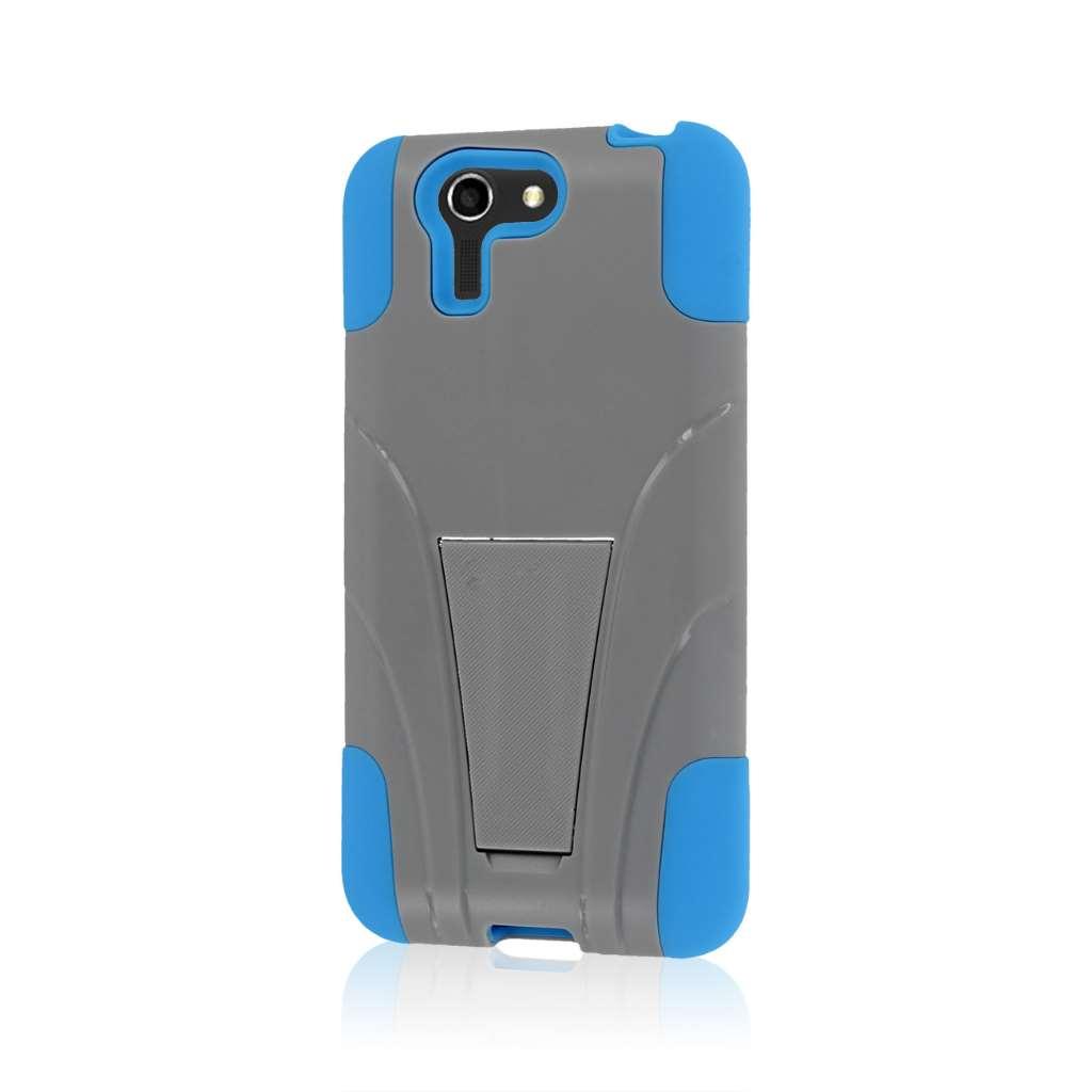 ASUS PadFone X - Blue / Gray MPERO IMPACT X - Kickstand Case Cover