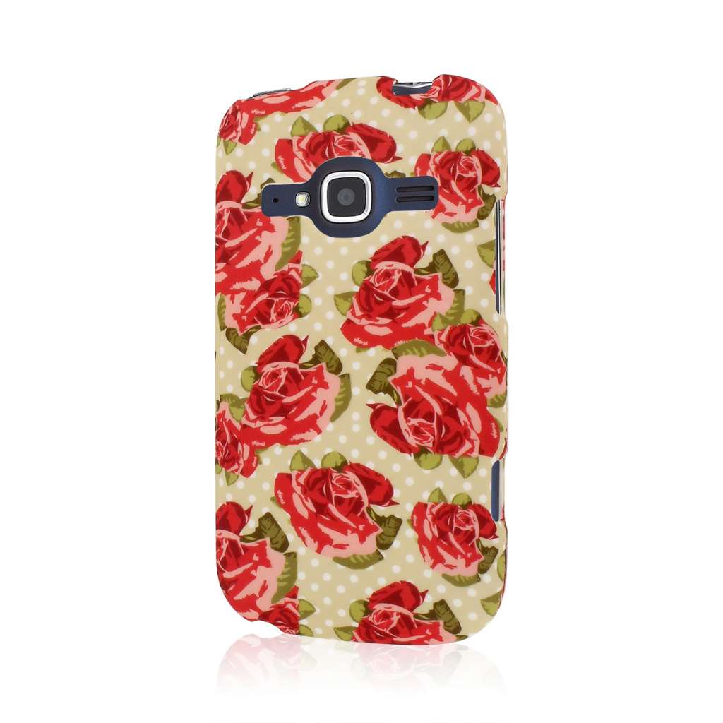 ZTE Concord 2 - Vintage Red Roses MPERO SNAPZ - Case Cover