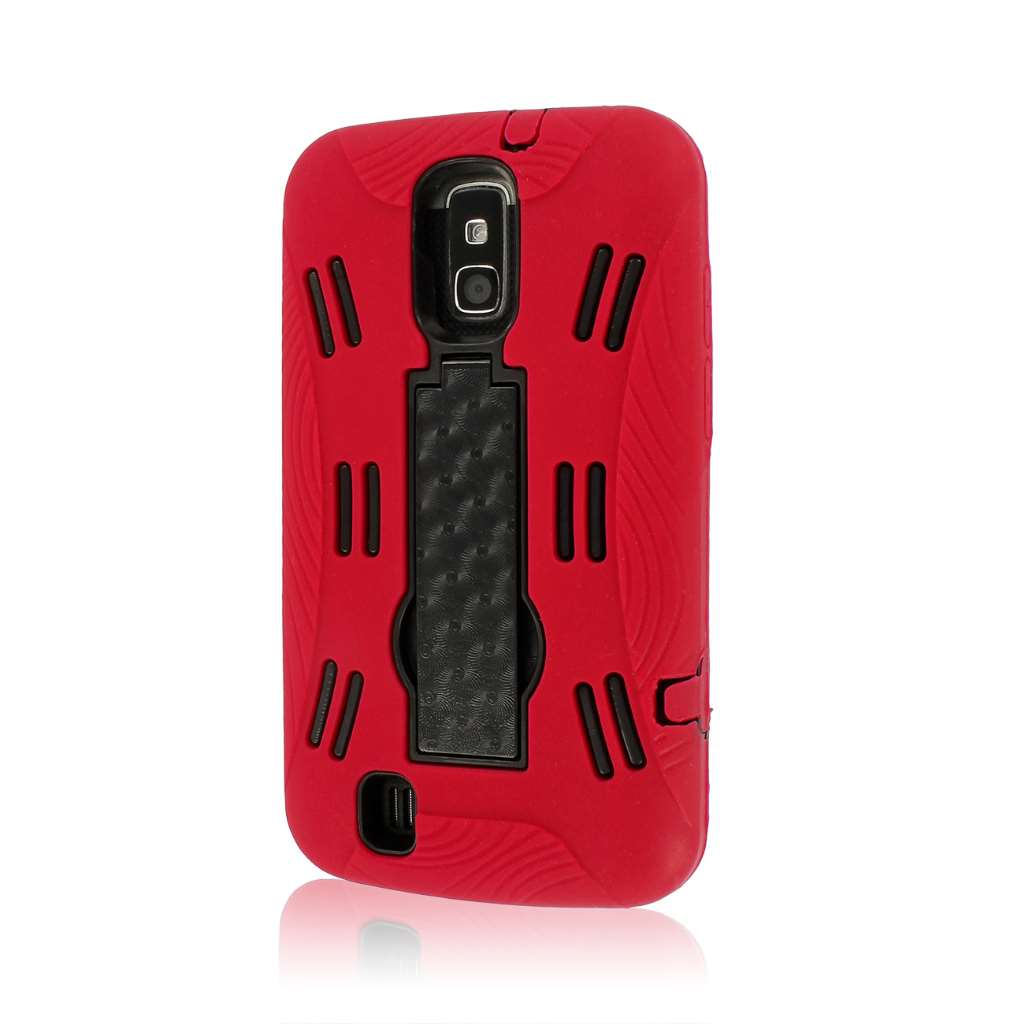 ZTE Force N9100 - Red MPERO IMPACT XL - Kickstand Case Cover