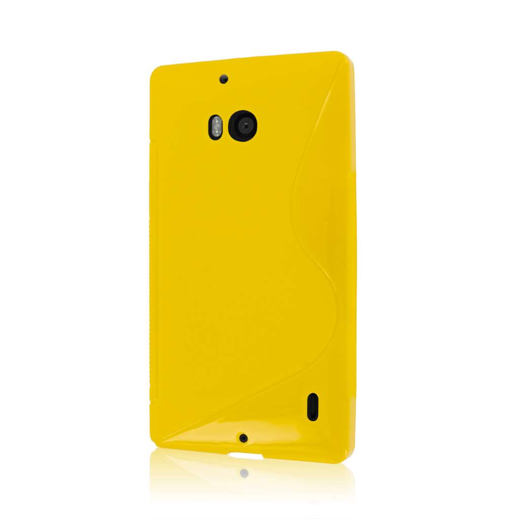 Nokia Lumia Icon - YELLOW MPERO FLEX S - Protective Case Cover
