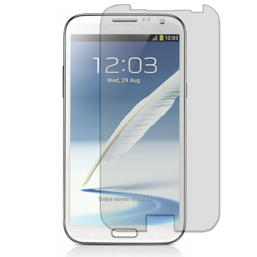 Samsung Galaxy Note 2 II N7100 Clear LCD Screen Protector