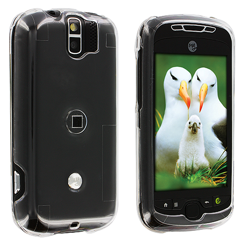 HTC MyTouch 3G Slide Clear Crystal Transparent Hard Case Cover