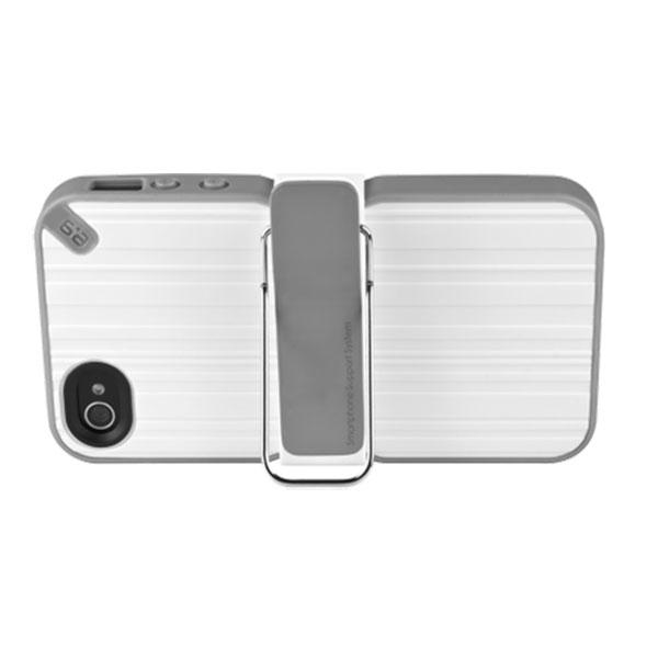 iPhone 4/4S - White PureGear The Utilitarian Smartphone Support System Case