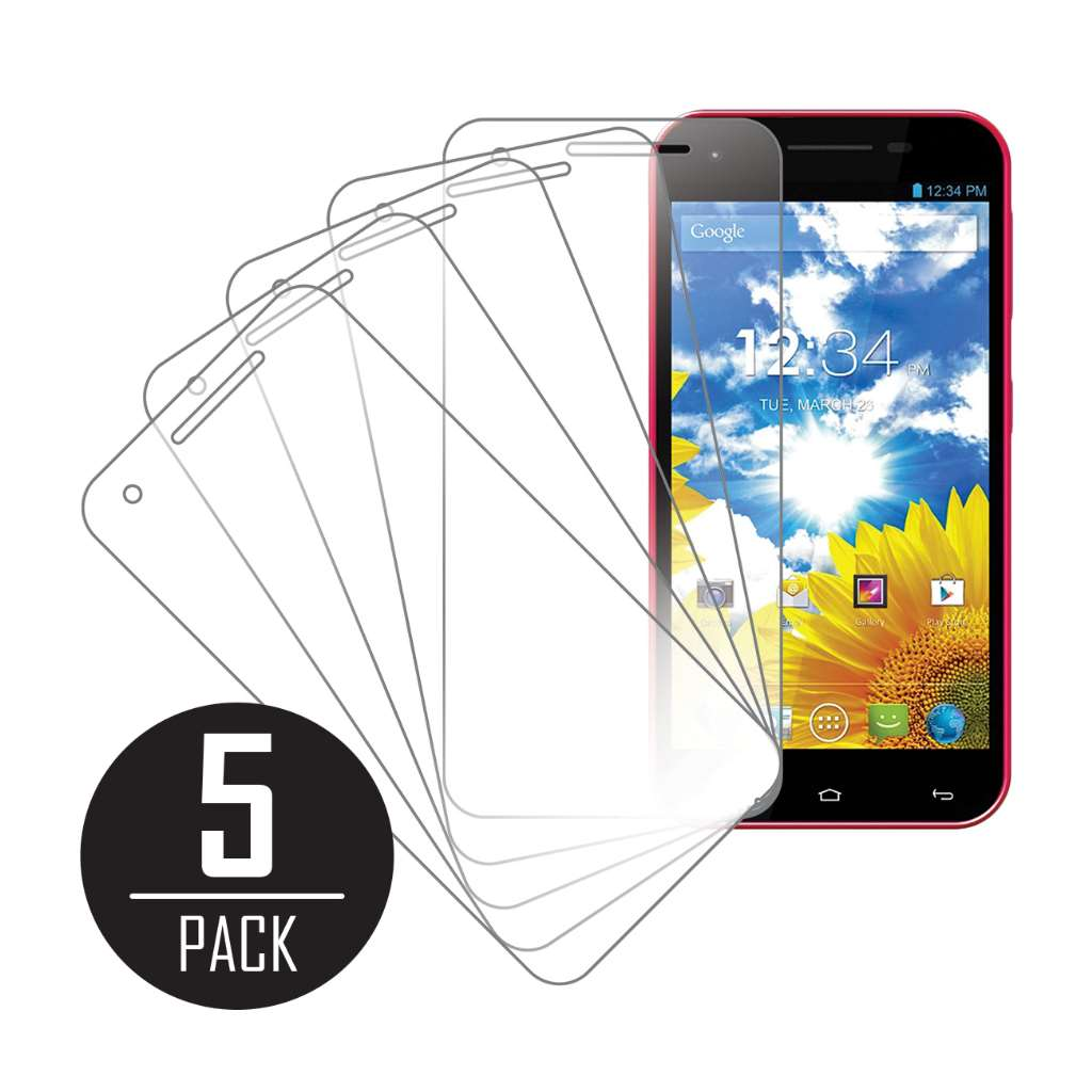 BLU Studio 5.5 MPERO 5 Pack of Clear Screen Protectors