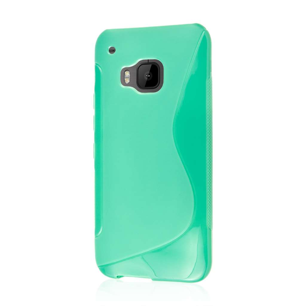 HTC One M9 - Mint Green MPERO FLEX S - Protective Case Cover