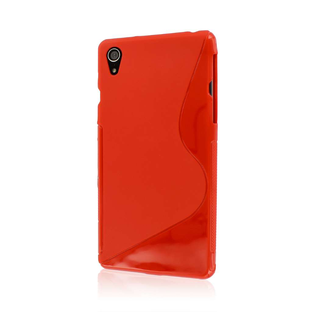 Sony Xperia Z2 - Red MPERO FLEX S - Protective Case Cover