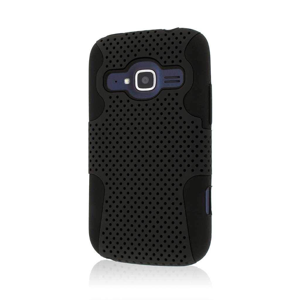 ZTE Concord 2 - Black MPERO FUSION M - Protective Case Cover