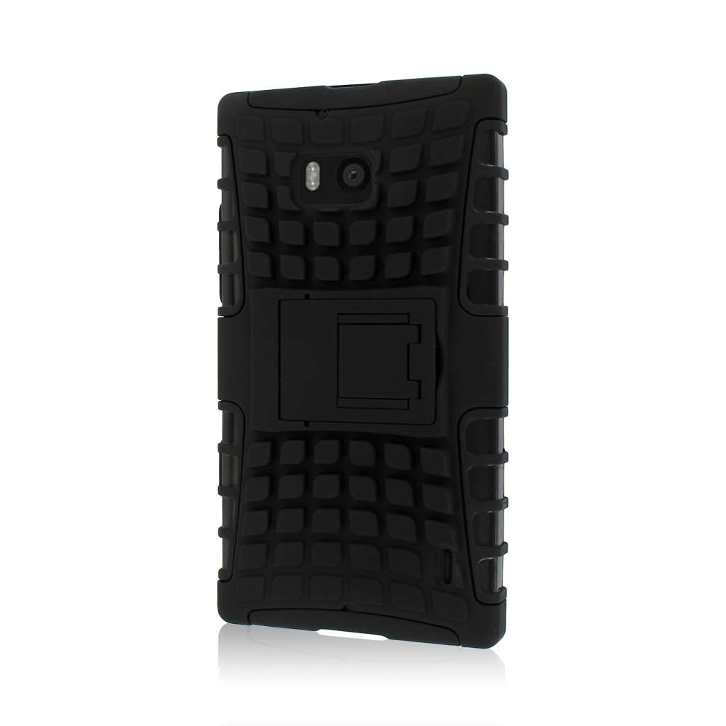 Nokia Lumia Icon- black MPERO IMPACT SR - Kickstand Case Cover
