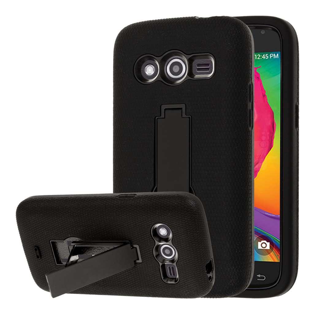 Samsung Galaxy Avant - Black MPERO IMPACT XS - Kickstand Case Cover