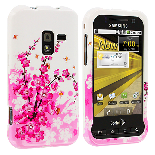 Samsung Conquer 4G D600 Spring Flowers Design Crystal Hard Case Cover