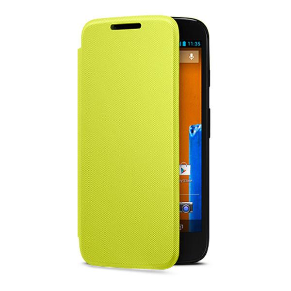 Moto G - Lemon Motorola Flip Shell
