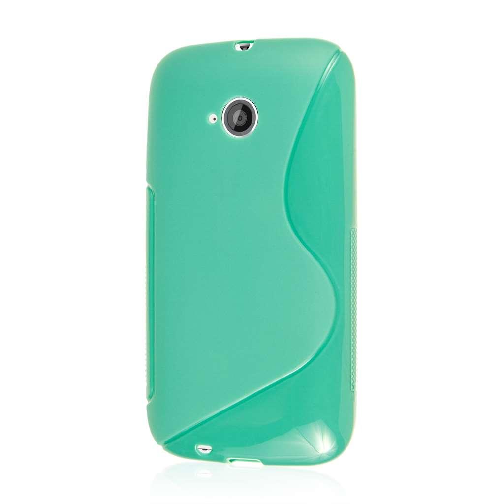 Motorola Moto E 2nd Generation - Mint Green MPERO FLEX S - Protective Case