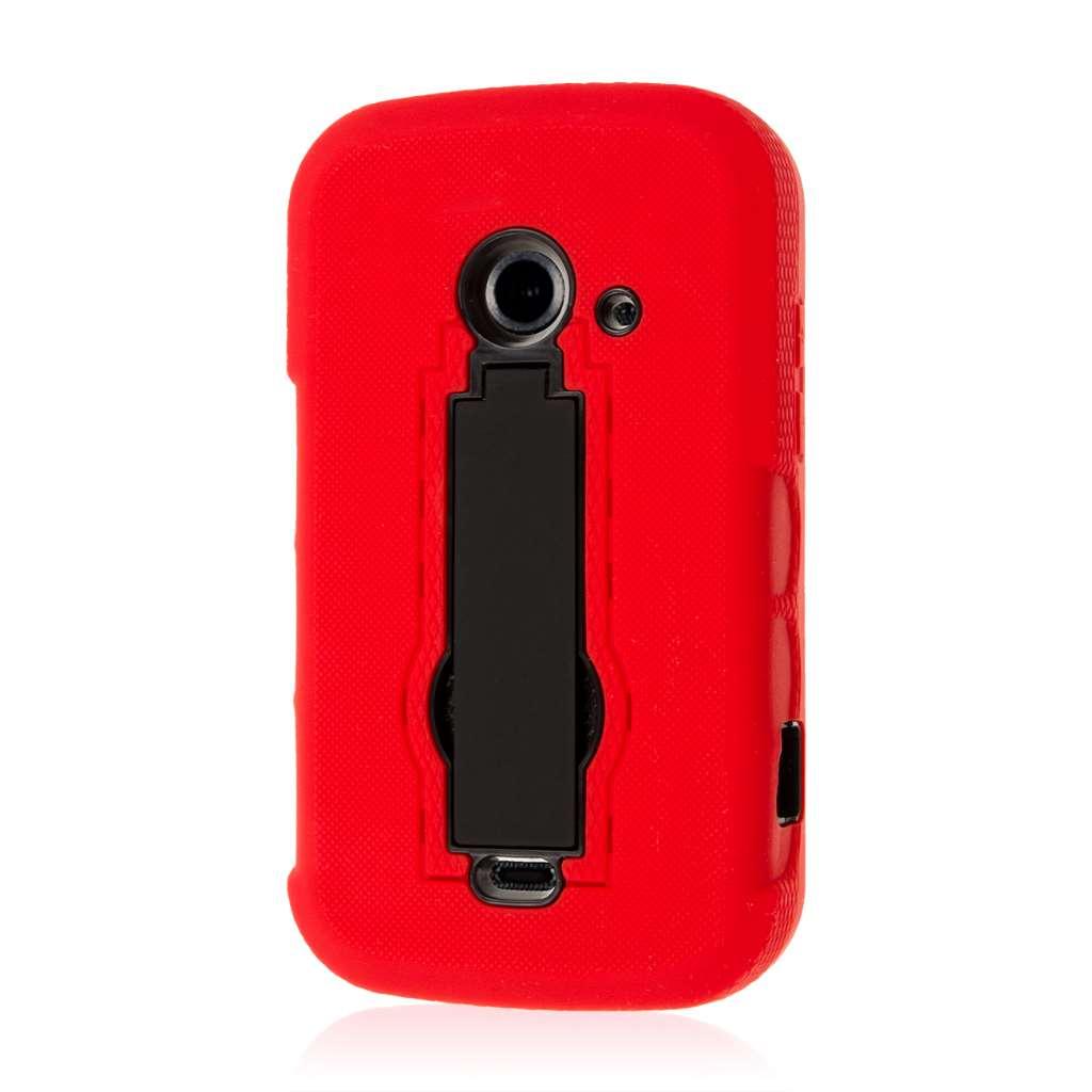 ZTE Prelude 2 - Red MPERO IMPACT XS - Kickstand Case Cover