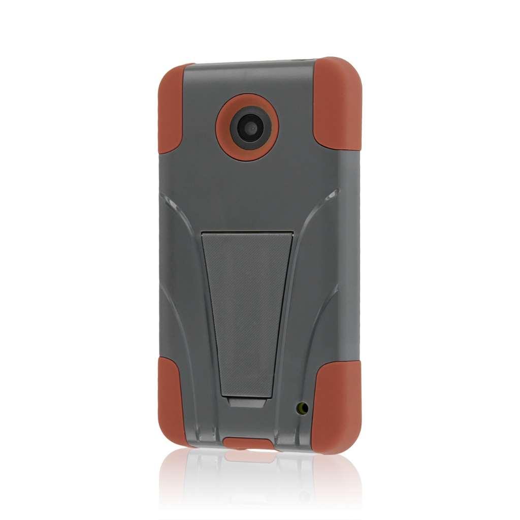 Nokia Lumia 635 - Sandstone / Gray MPERO IMPACT X - Kickstand Case Cover