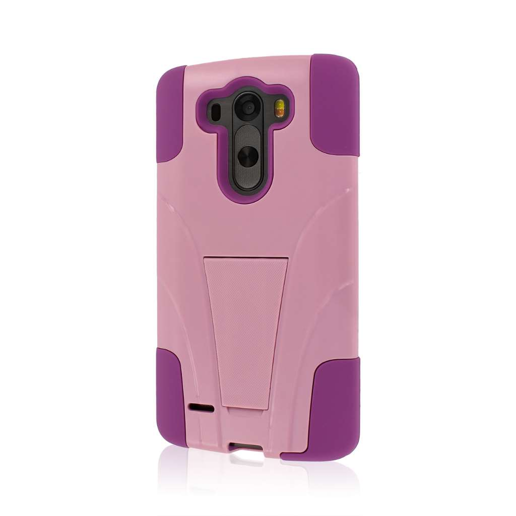 LG G3 - Pink MPERO IMPACT X - Kickstand Case Cover