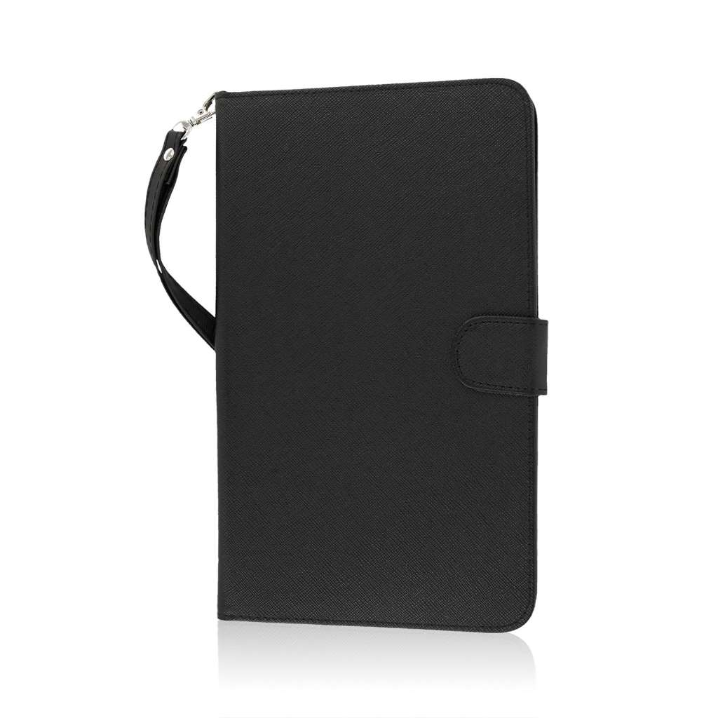 Samsung Galaxy Tab 4 8.0 - Black MPERO FLEX FLIP Wallet Case Cover