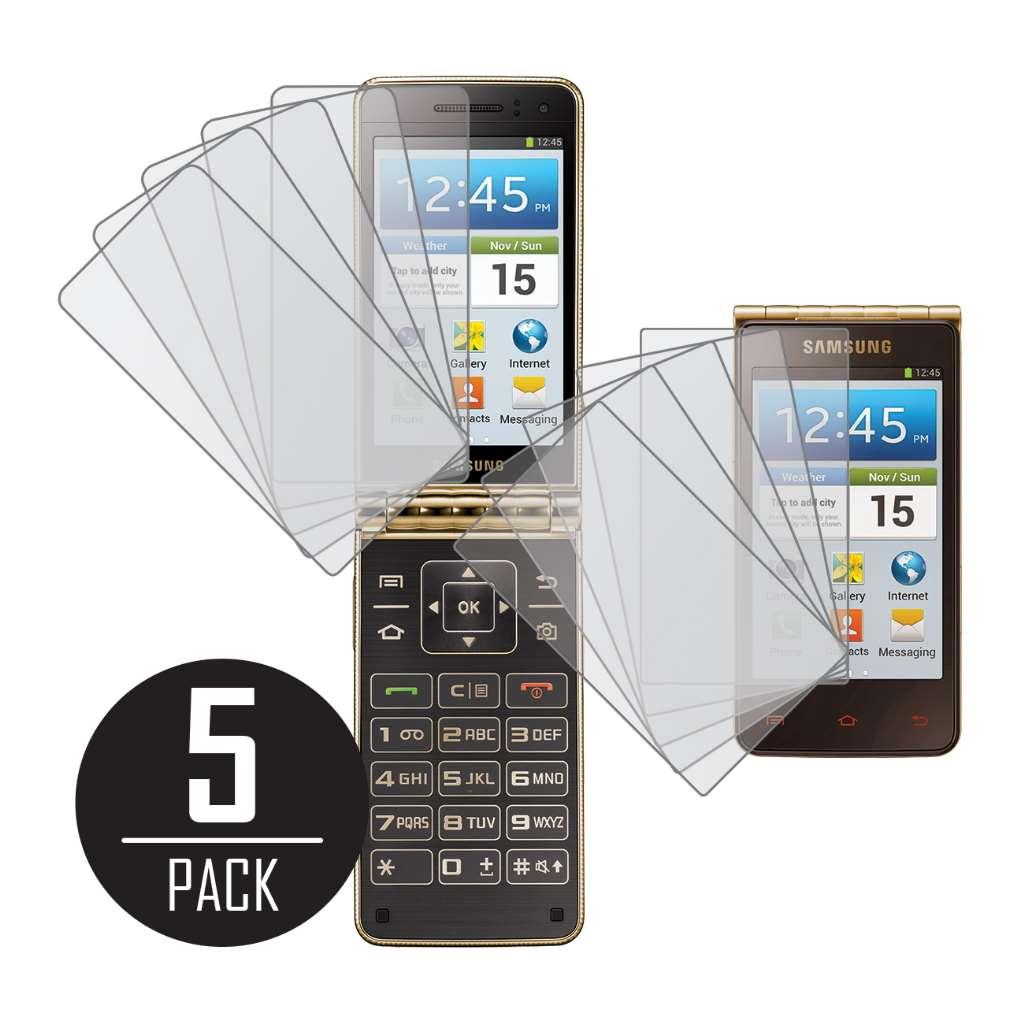 Samsung Galaxy Golden MPERO 5 Pack of Matte Screen Protectors