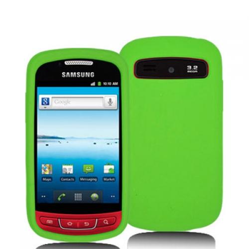 Samsung Admire R720 Neon Green Silicone Soft Skin Case Cover