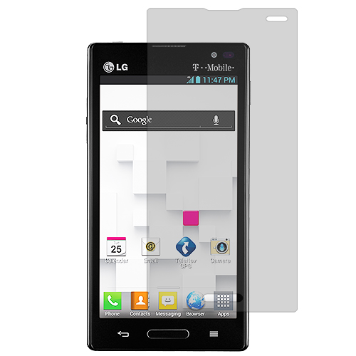 LG Optimus L9 P769 T-Mobile Clear LCD Screen Protector