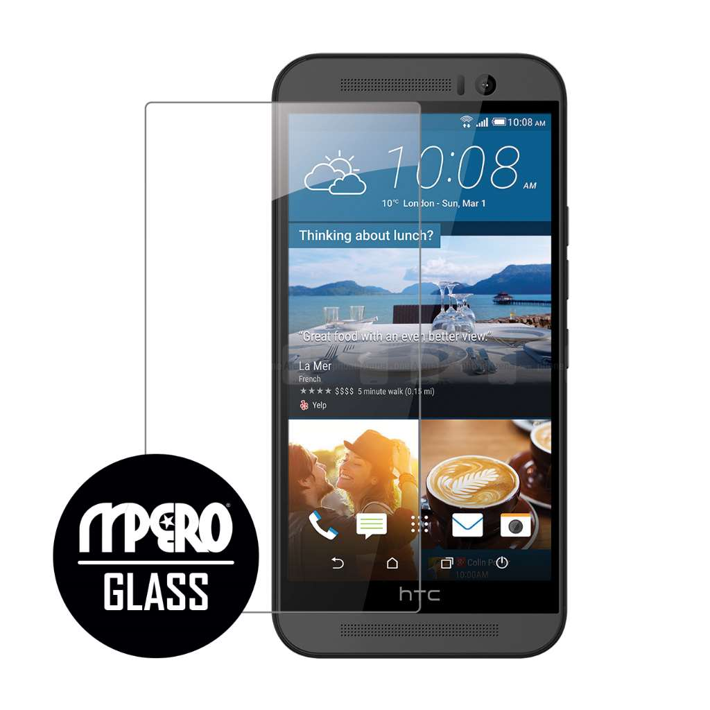 HTC One M9 MPERO Tempered Glass Screen Protector