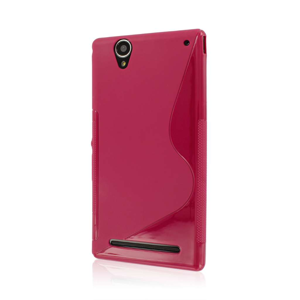 Sony Xperia T2 Ultra - Hot Pink MPERO FLEX S - Protective Case Cover