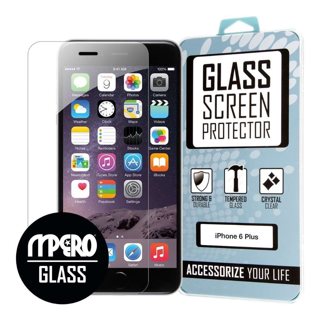 Apple iPhone 6 Plus / 6S Plus MPERO Tempered Glass Screen Protector