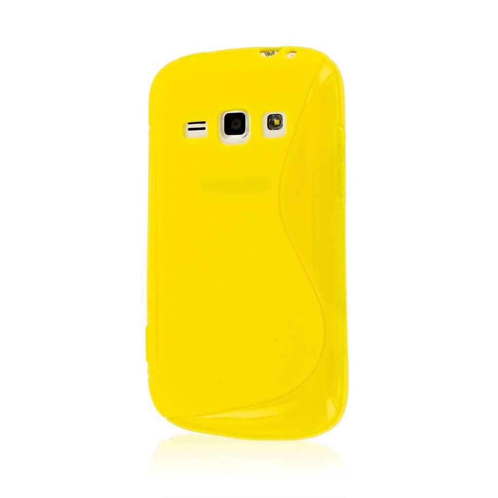 Samsung Galaxy Prevail 2 - Yellow MPERO FLEX S - Protective Case Cover