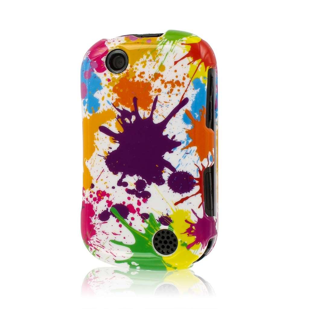 Kyocera Milano - White Paint Splatter MPERO SNAPZ - Glossy Case Cover
