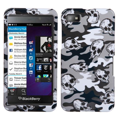 for blackberry z10 design snap on hard case phone cover ebay. Black Bedroom Furniture Sets. Home Design Ideas